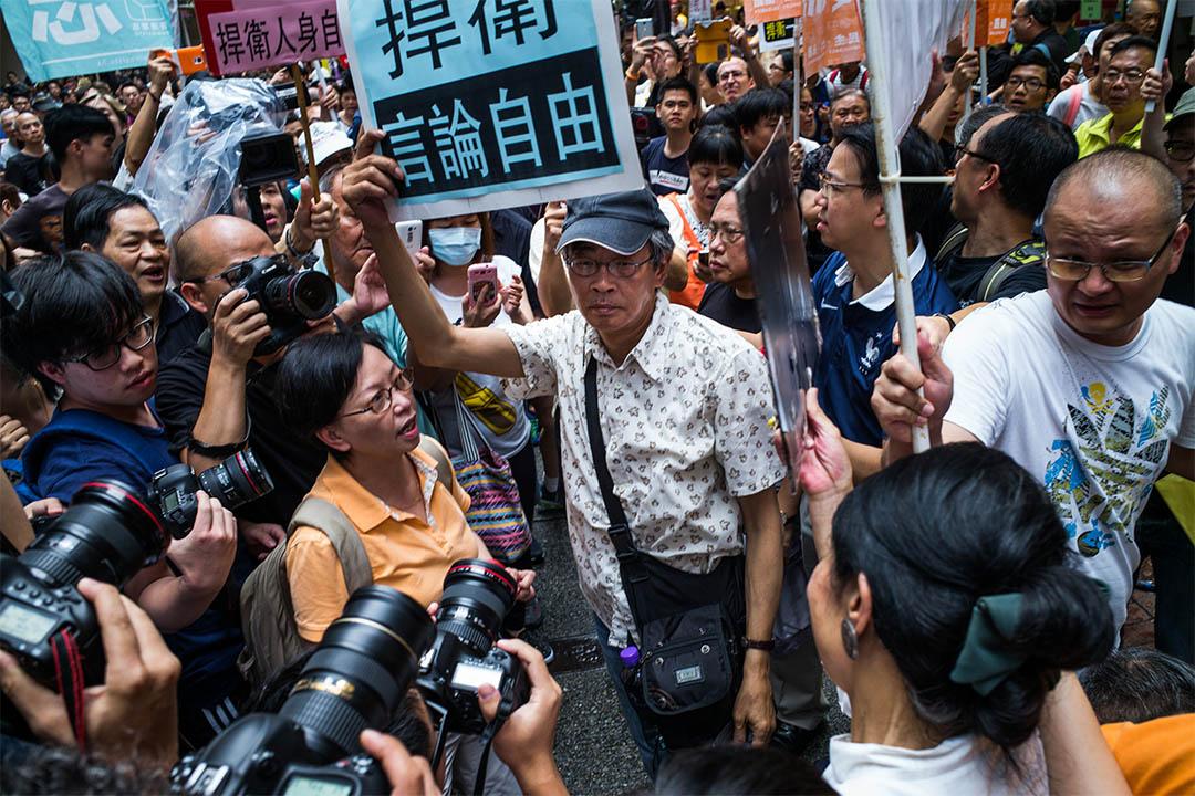 銅鑼灣書店事件引起港人擔心香港的言論自由。