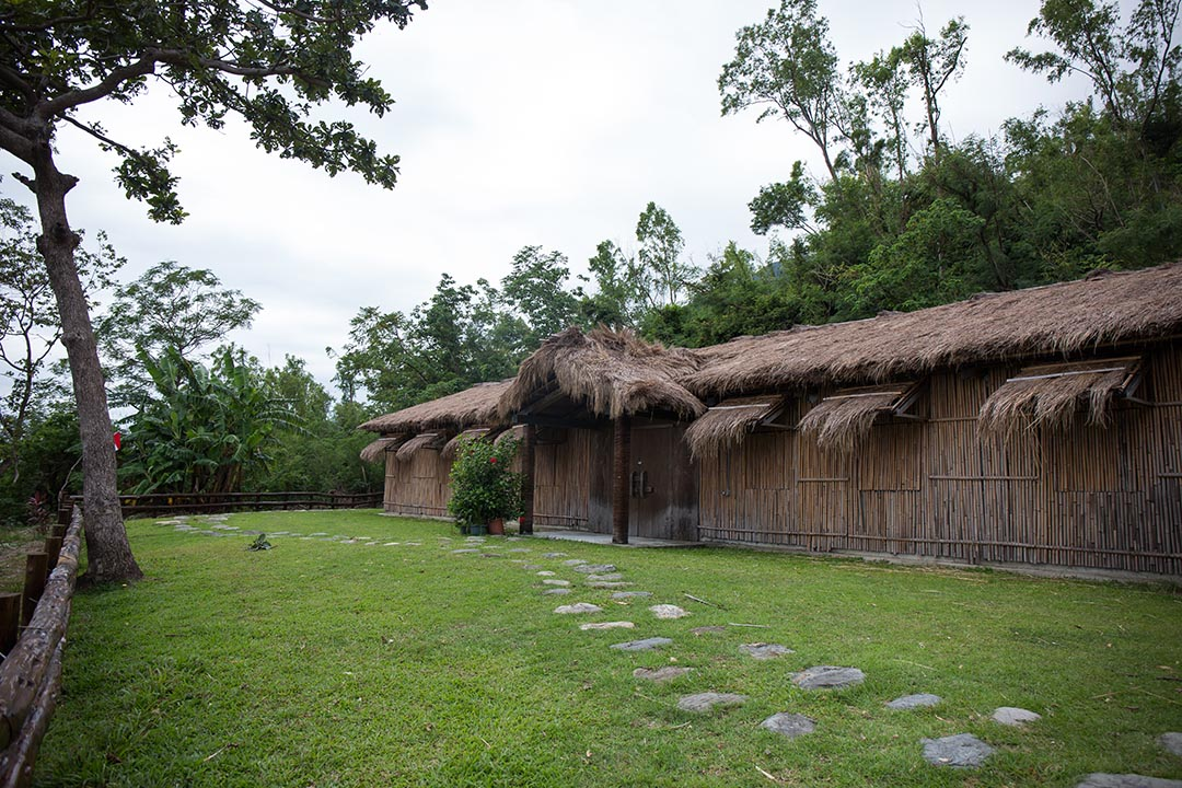 在都蘭知名景點「月光小棧」旁的獵寮,是部落青年的訓練會所。