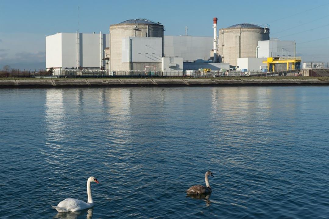 法國斐森南(Fessenheim)的核電站。