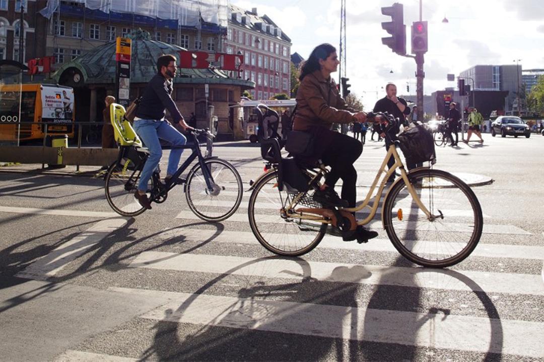 哥本哈根單車數量首次超過汽車數量。