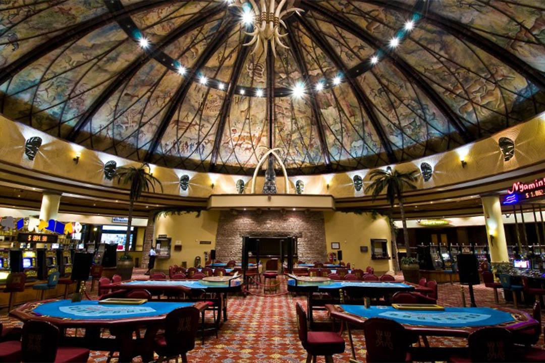 圖為津巴布韋的一家賭場。