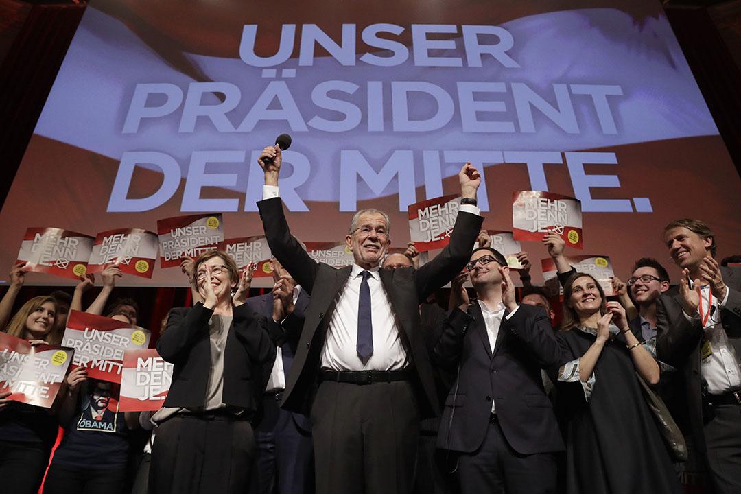 前綠黨領導人亞歷山大·范德貝倫成為奧地利總統。
