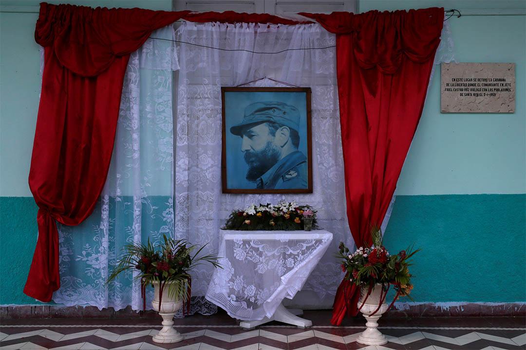 2016年12月3日,古巴,一個卡斯特羅的悼念儀式。