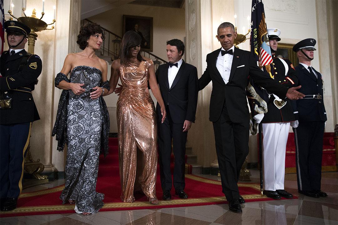 2016年10月18日,美國第44任總統奧巴馬在他任上最後一次國宴。