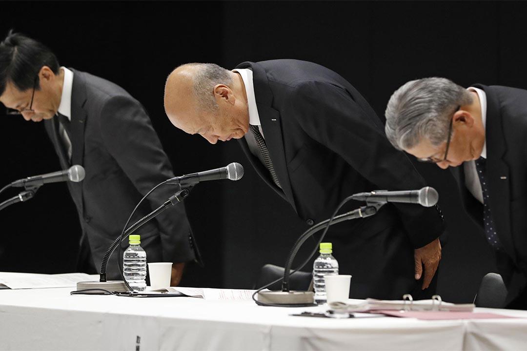 日本電通涉奴役僱員釀自殺案,社長引咎辭職。
