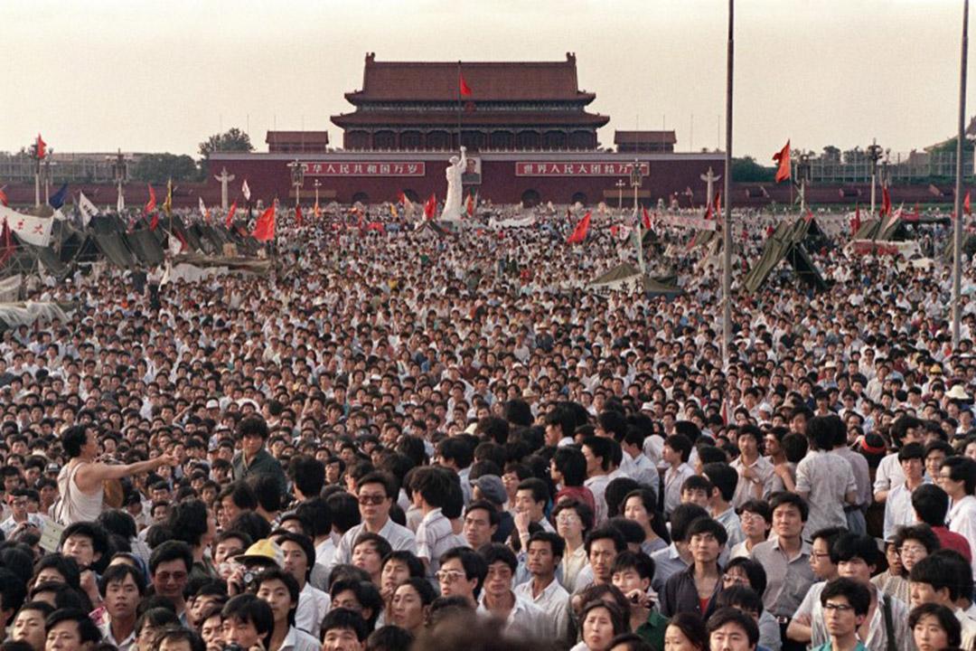 英國檔案處解封一批1989至1990年內閣檔案,當中包括一九八九年中國六四事件檔案。