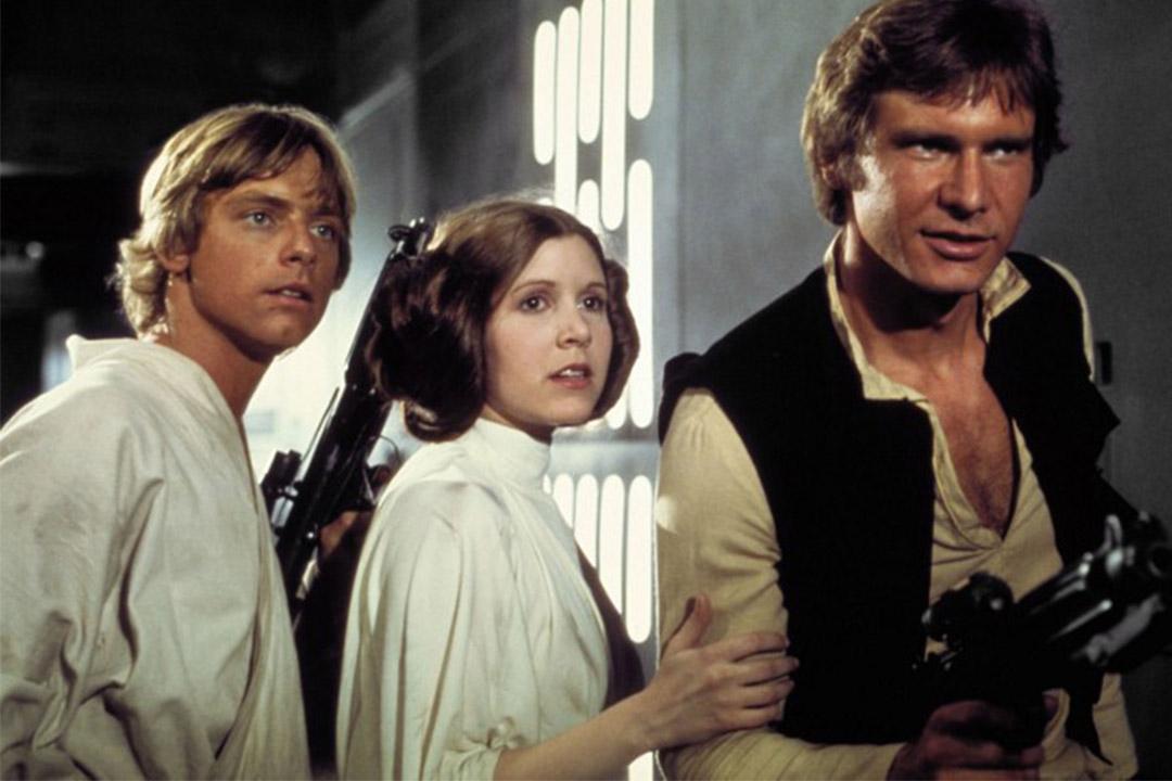 星球大戰公主的演員Carrie Fisher去世,終年60歲。圖為《星球大戰:曙光乍現》劇照。