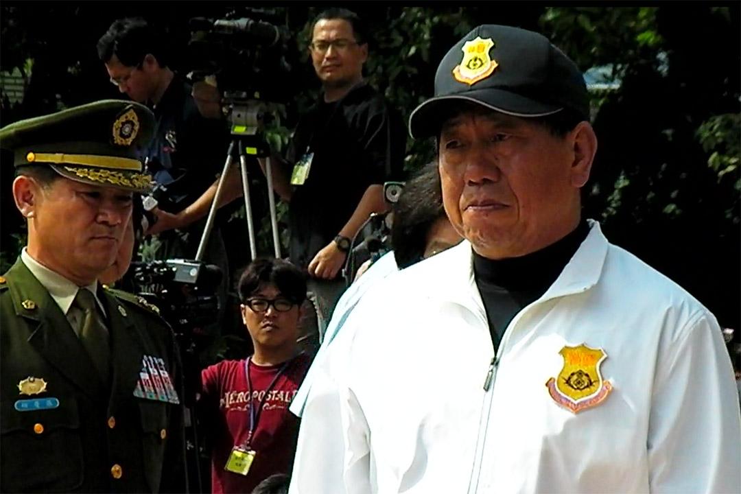 台灣國家安全局前局長蔡得勝。