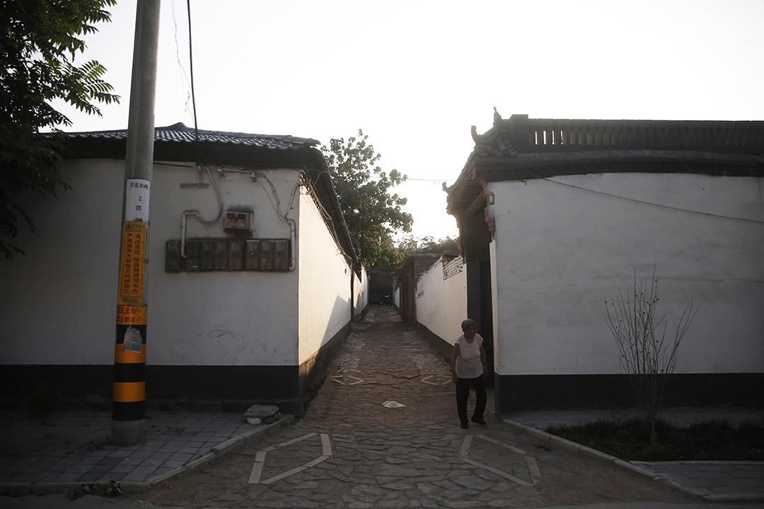 聶樹斌家門前。