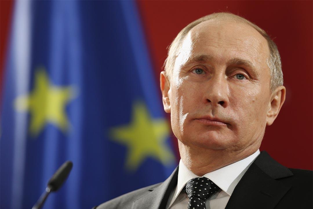 圖為2013年4月8日,俄羅斯總統普京在德國出席一個國際貿易節。