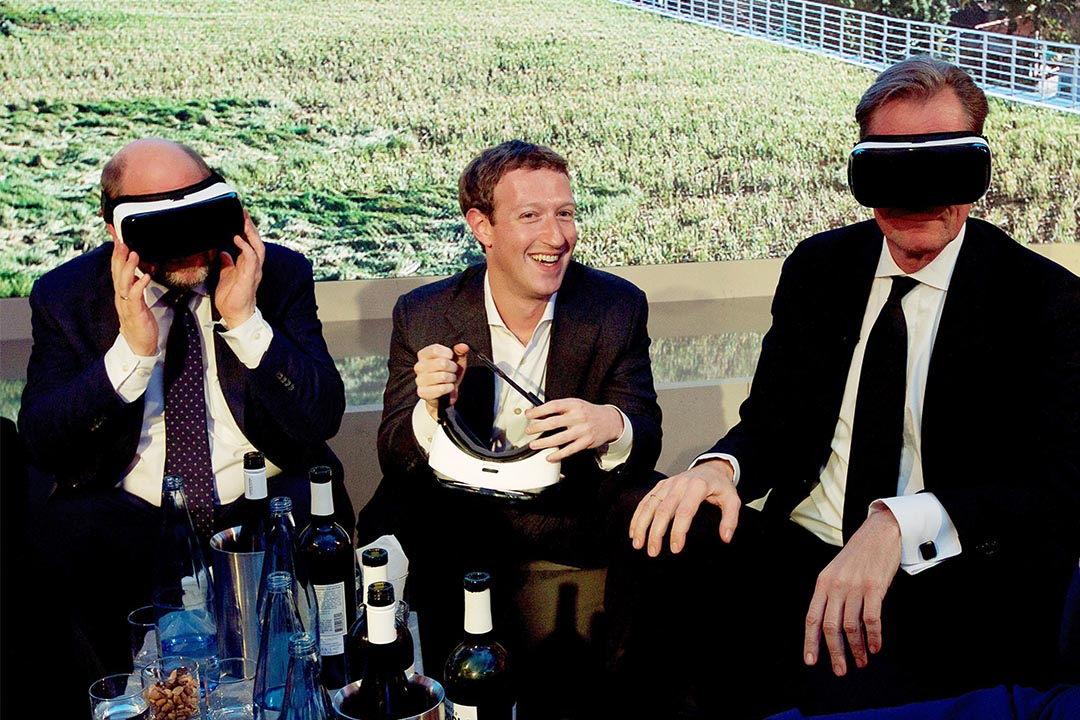 Facebook創始人朱克伯格。