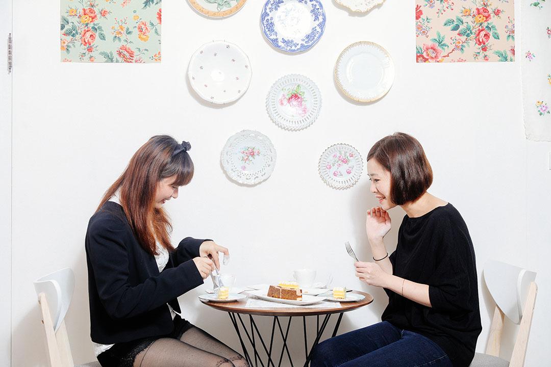 Claire和Ying的經驗談是先從外觀判斷,甜點的視覺具不具吸引力,已經成為她們判斷的首要指標。