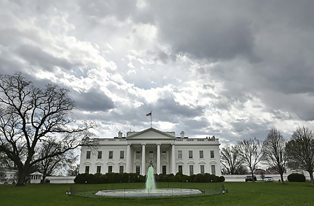 美國白宮。