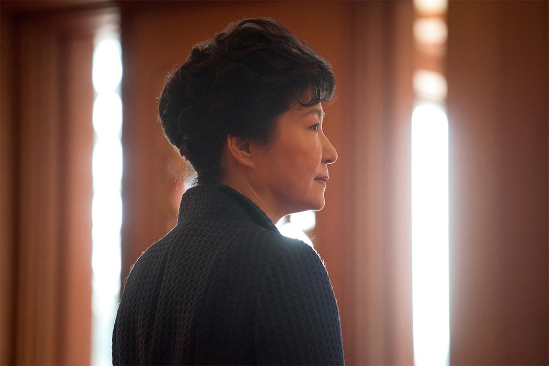 被南韓國會通過進行彈劾的總統朴槿惠。