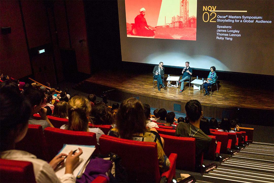 奧斯卡紀錄片大師班邀來獲奧斯卡金像獎兩次提名的導演James Longley,以及三次獲奧斯卡金像獎提名並於2007年獲頒最佳紀錄片短片獎的導演Thomas Lennon,一同來港出席連串紀錄片放映會及座談會。