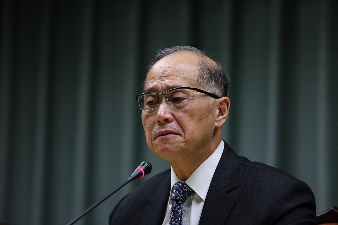 2016年12月21日,台灣與聖多美和普林西比斷交後,台灣外交部長李大維召開記者會。