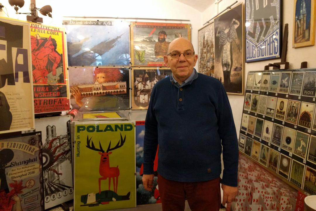對Krzysztof而言,海報是一種「直接的、即使不去博物館和美術館的普羅大眾也能接觸得到視覺文化教育。」
