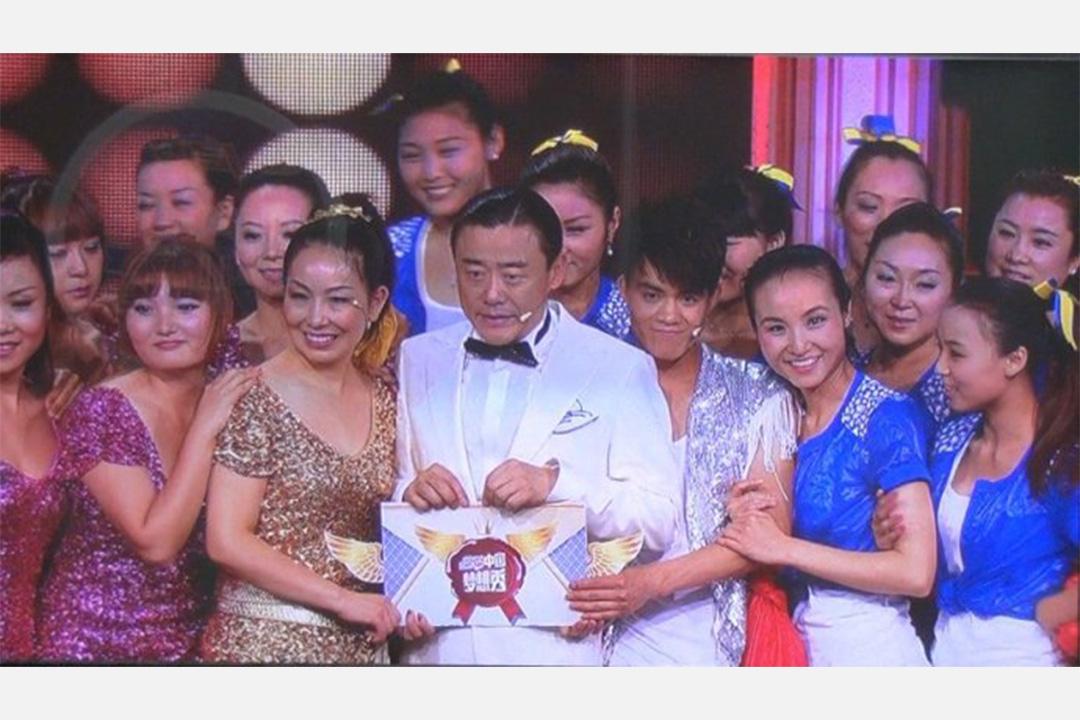 美久參加浙江衛視的《中國夢想秀》節目。