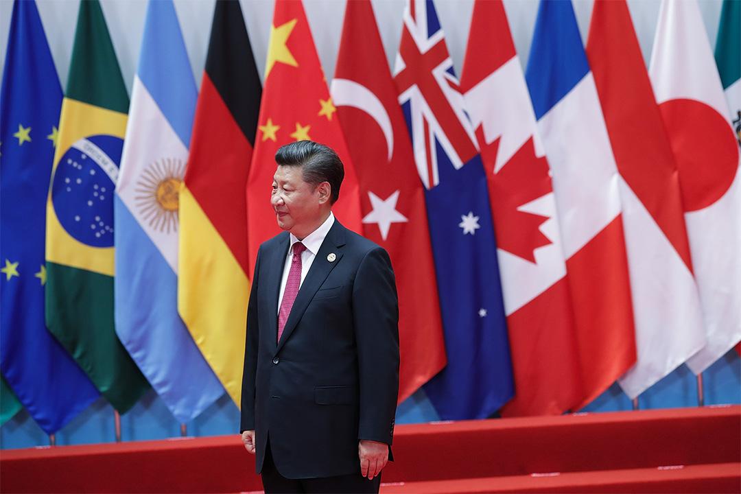 張軍指若他者退出領導世界的位置,中國或將承擔這角色。圖為習近平參加2016年9月4日舉行的G20峰會。