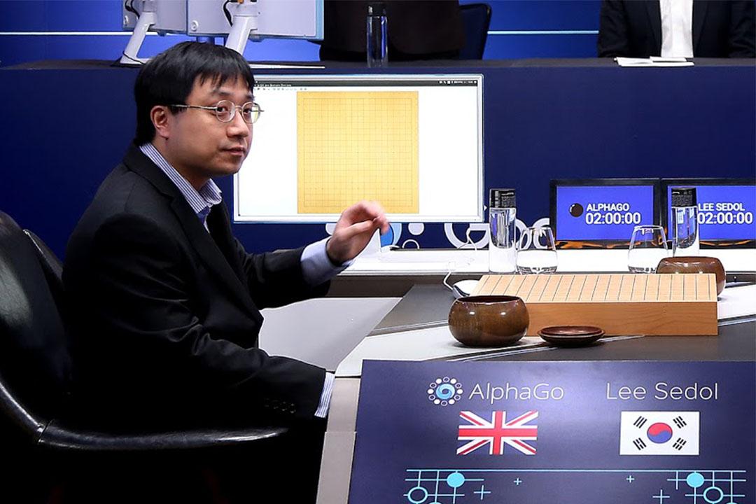 AlphaGo的開發者黃士傑。