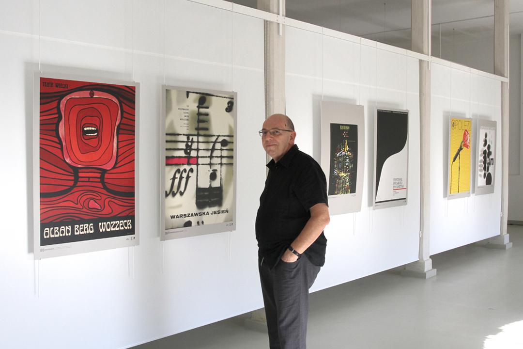 Cracow Poster Gallery創辦人Krzysztof Dydo。