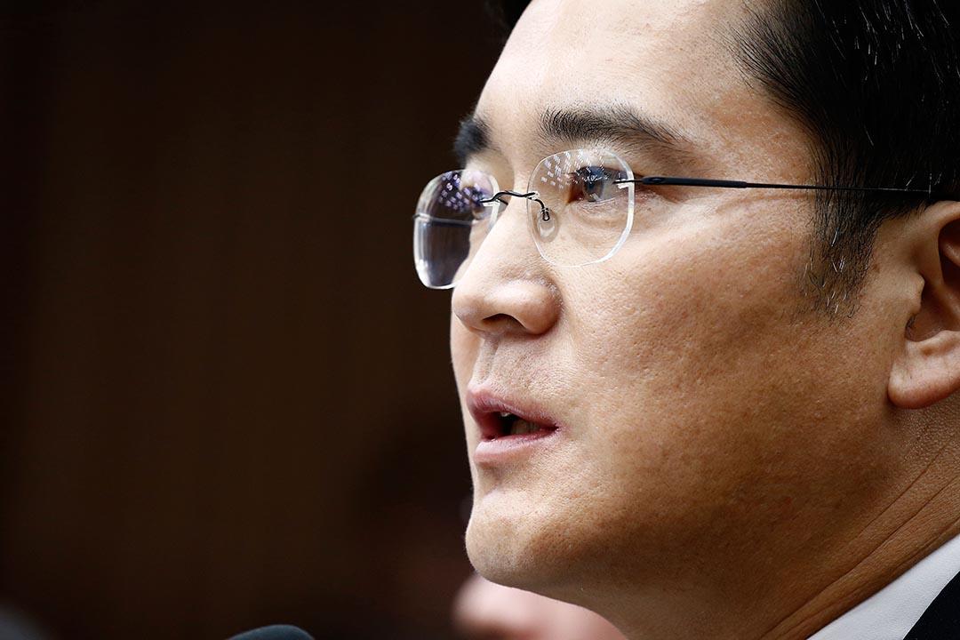 三星第三代掌門人Lee Jae-Yong被列為親信干政案嫌犯。