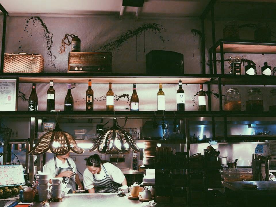 孔雀歐亞料理餐酒館。