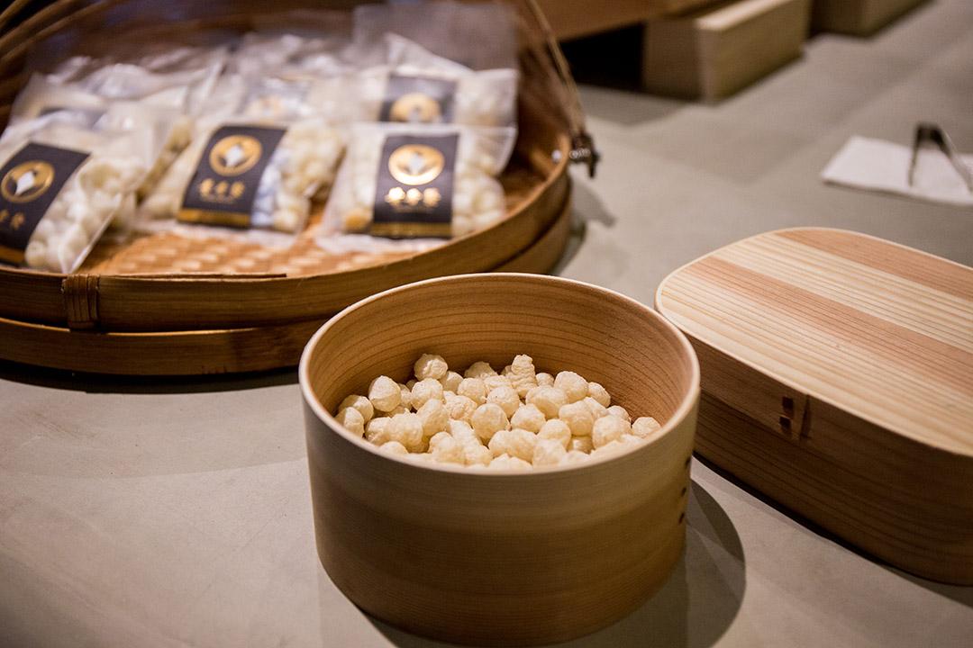 葉晉發商號用米開發出來的零嘴。
