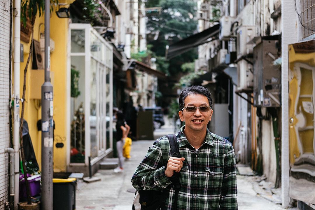 長春社文化古蹟資源中心總監劉國偉。