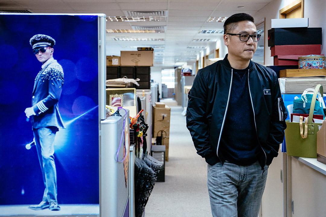 星娛樂唱片公司總經理朱浩棠。