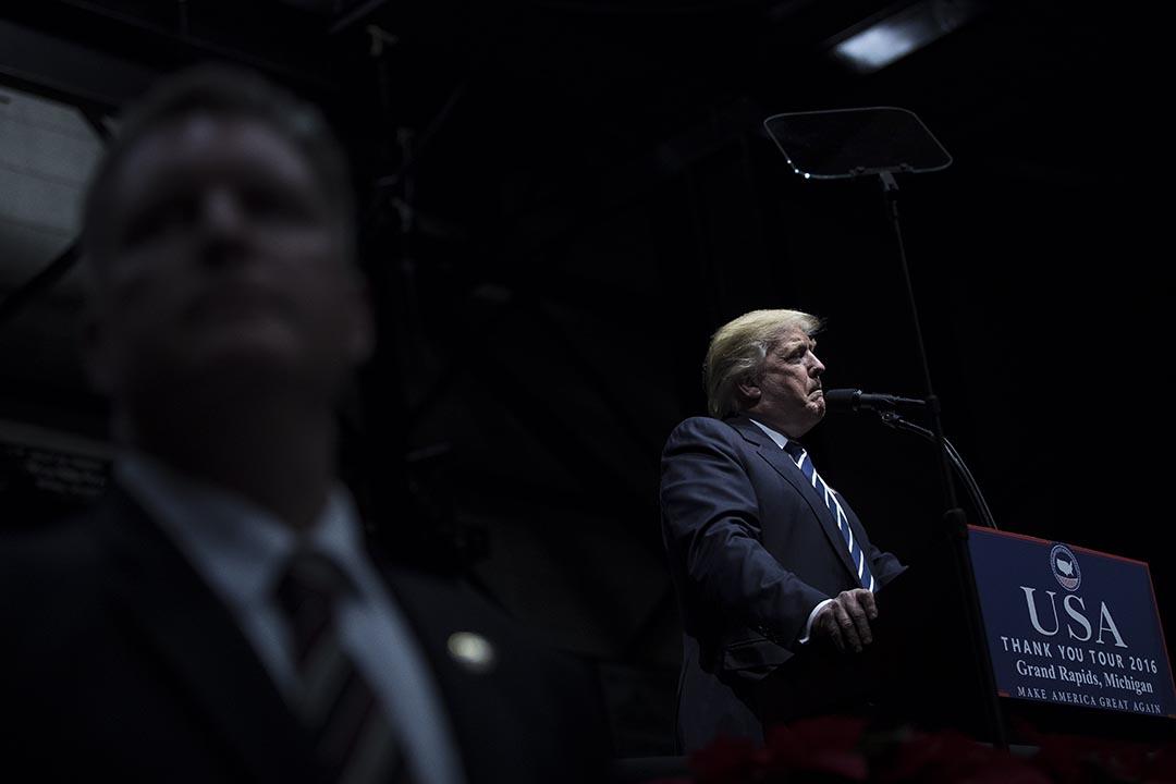 共和黨擬削國會道德辦權力,候任總統特朗普在Twitter上表示不滿。