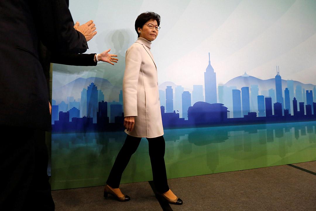 2017年1月16日,林鄭月娥正式宣布參選下屆行政長官。
