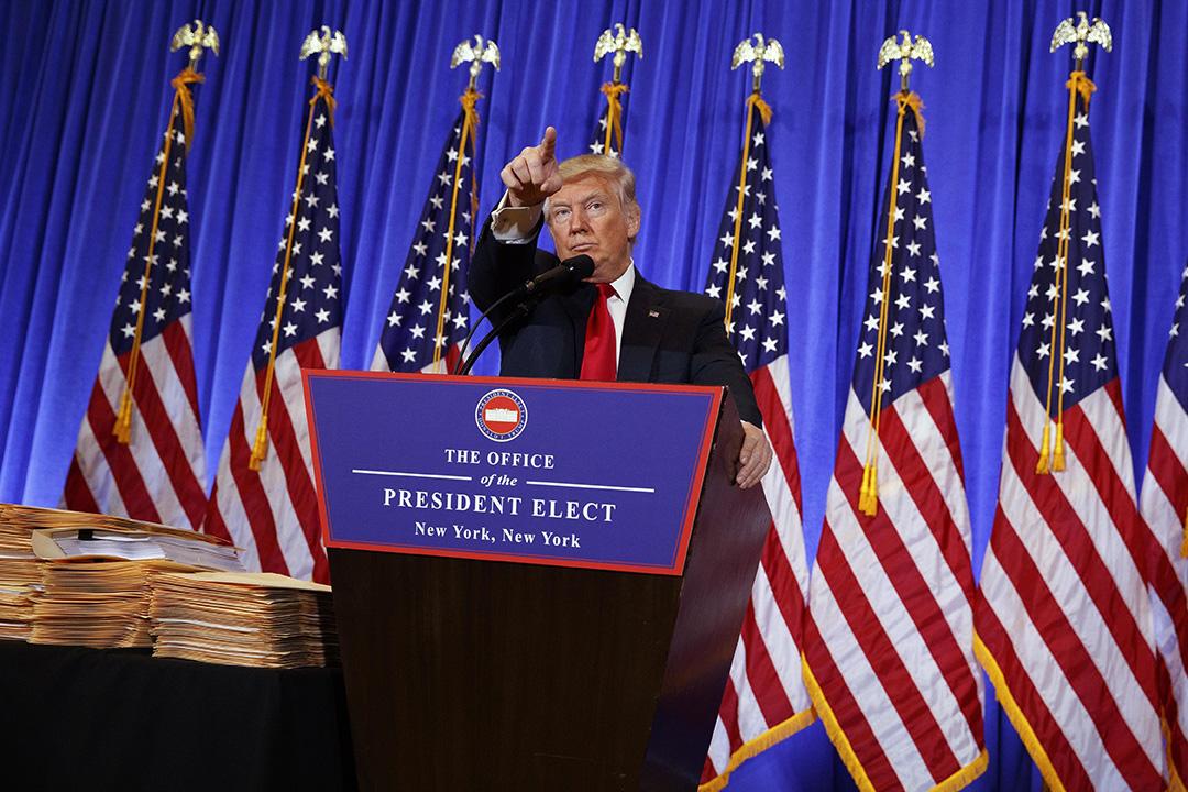 美國候任總統特朗普(Donald Trump)。