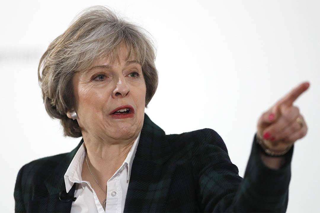 2017年1月17日,英國首相文翠珊在倫敦蘭開斯特府發表脫歐講話。