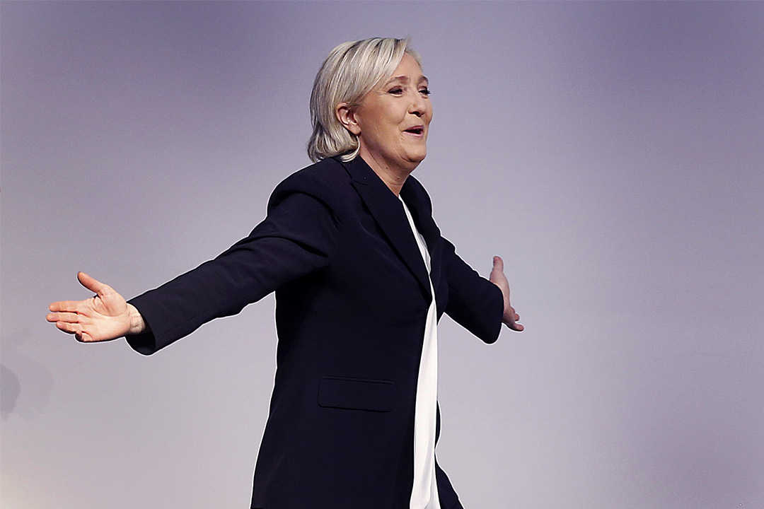 法國國民陣線領袖Marine Le Pen形容歐洲迎來「覺醒之年」。