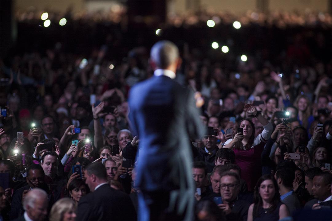 美國總統奧巴馬於1月10日舉行告別演講,過去人們熱情於「We the People」網站請願。