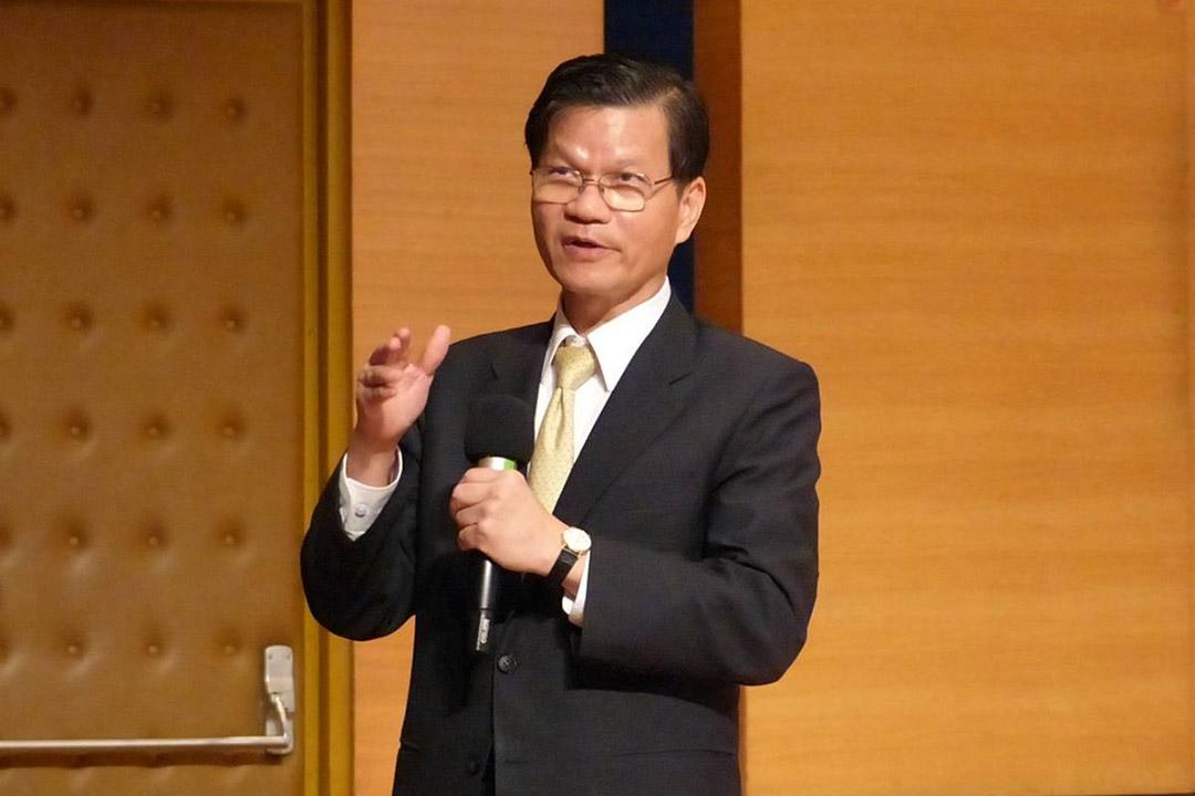 台灣中央研究院翁啟惠院長。