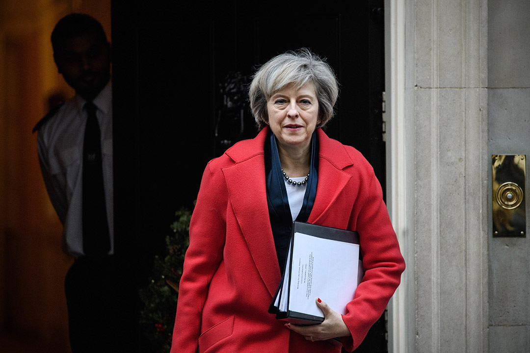 英国首相文翠珊(Theresa May)。