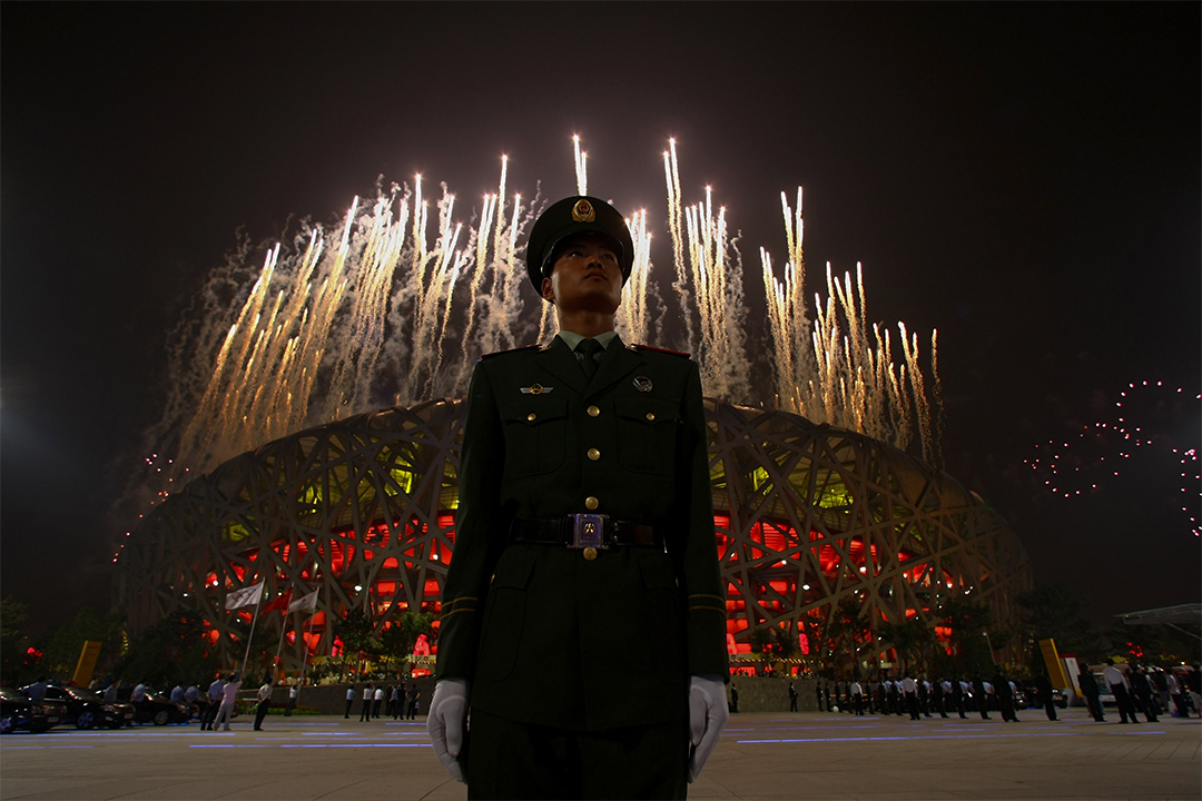 2008年的北京奥运会是中国真正成为国际舆论的焦点的一年。