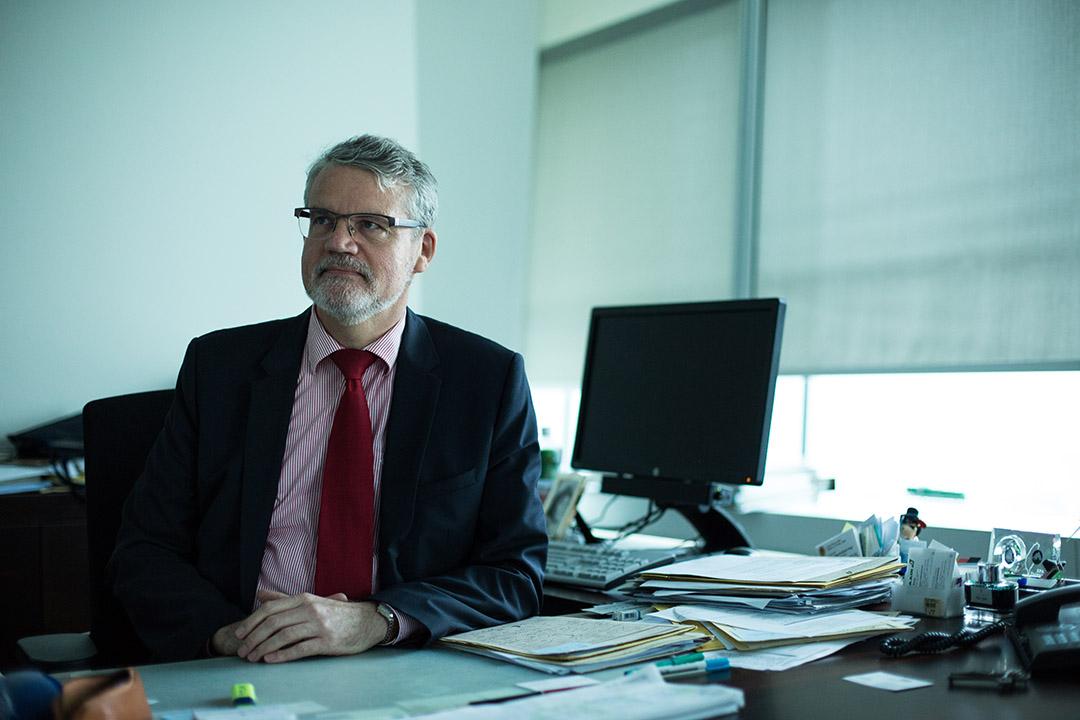 德國駐台代表、德國在台協會處長歐博哲(Martin Eberts)。