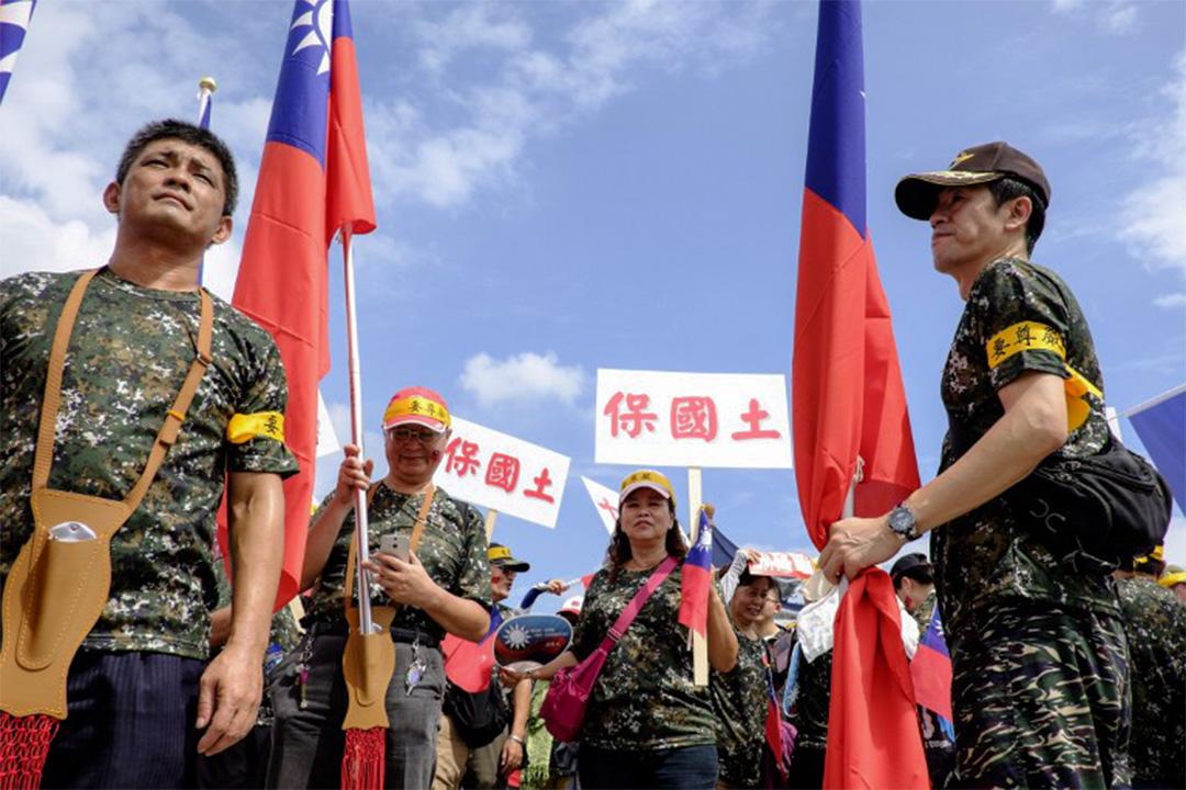 台灣軍公教人員退休金爭議持續。
