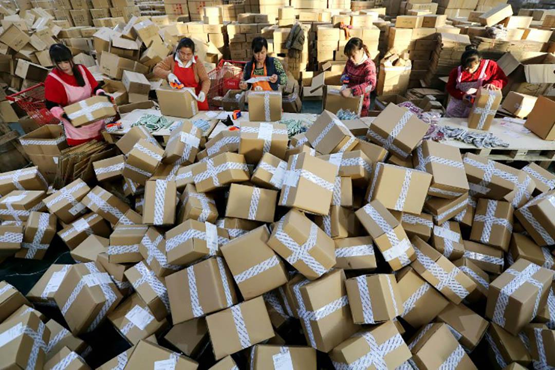 今年「雙十一」產生的1207億成交額,並也產生了7億個包裹的包裝盒,造成環境破壞。