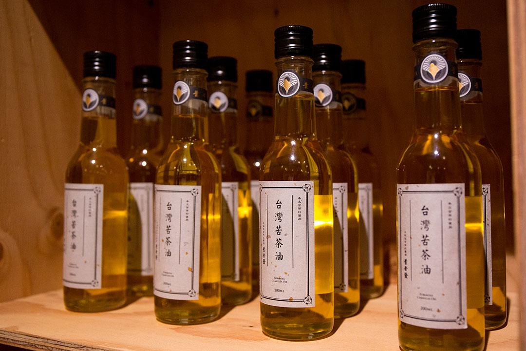 店內也有販售許多台灣的農產品。