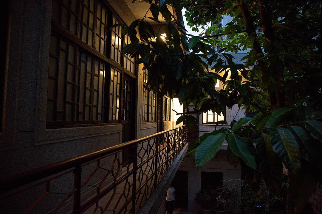 目前葉晉發商號二樓是個聯合辦公室空間。
