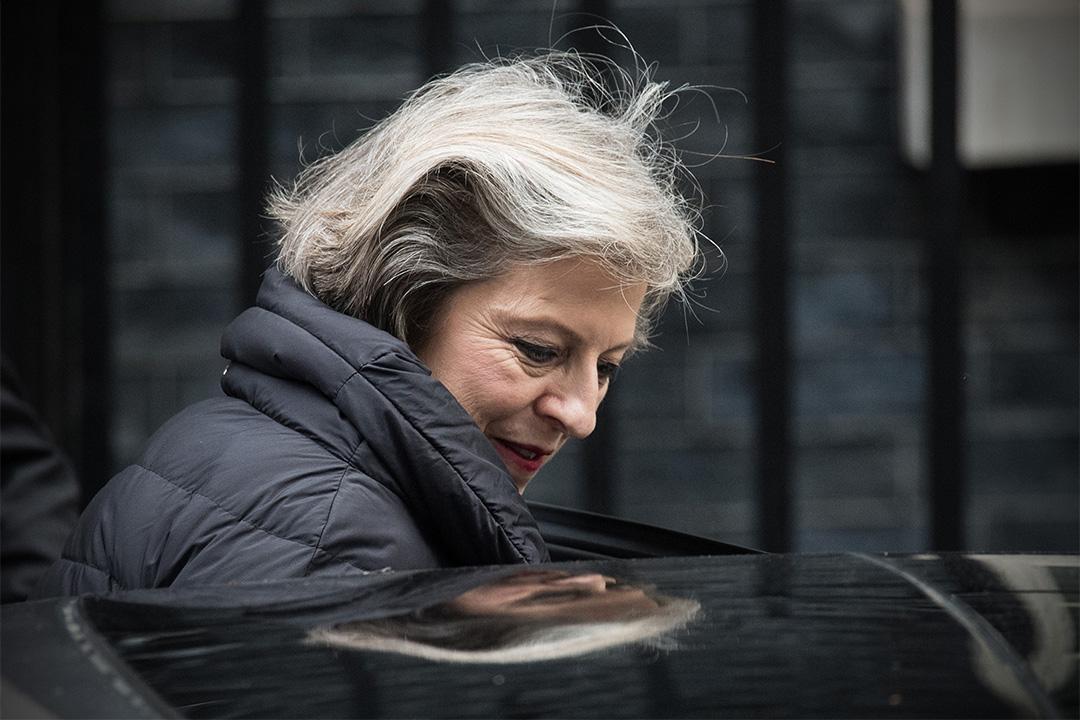 英國首相文翠珊。