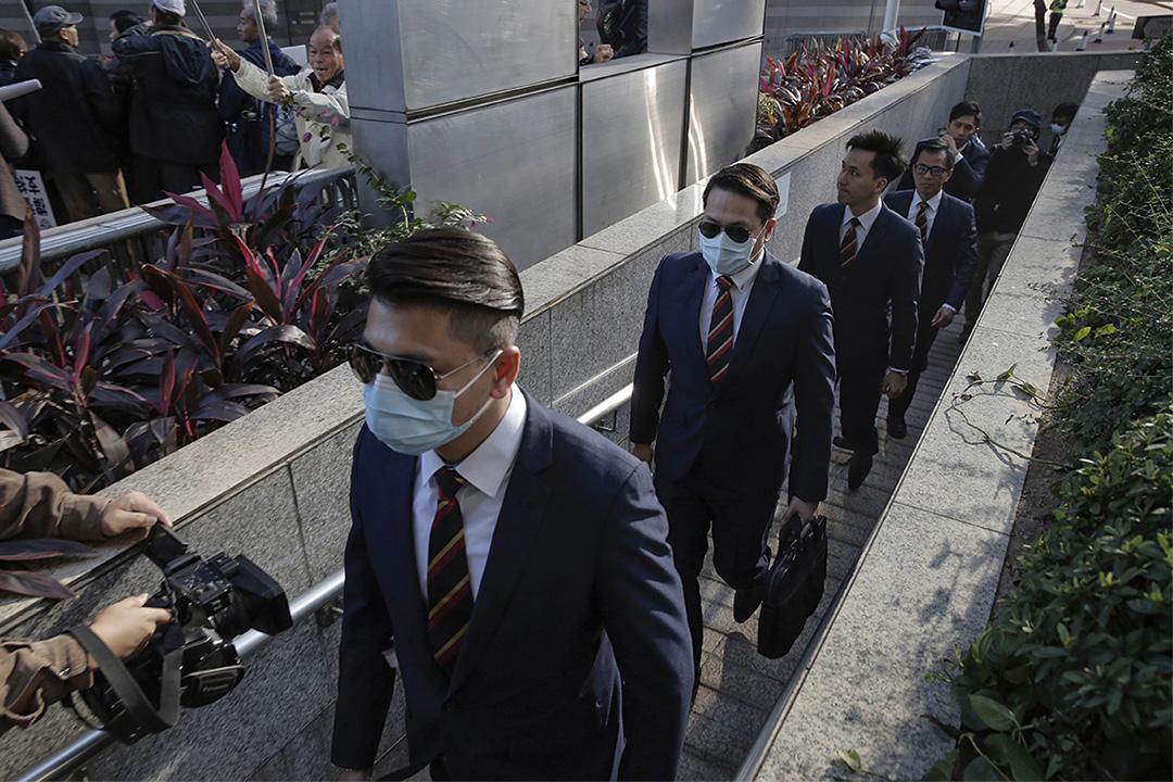 香港「七警案」於2月14日宣判,全部被告襲擊致傷害罪成。