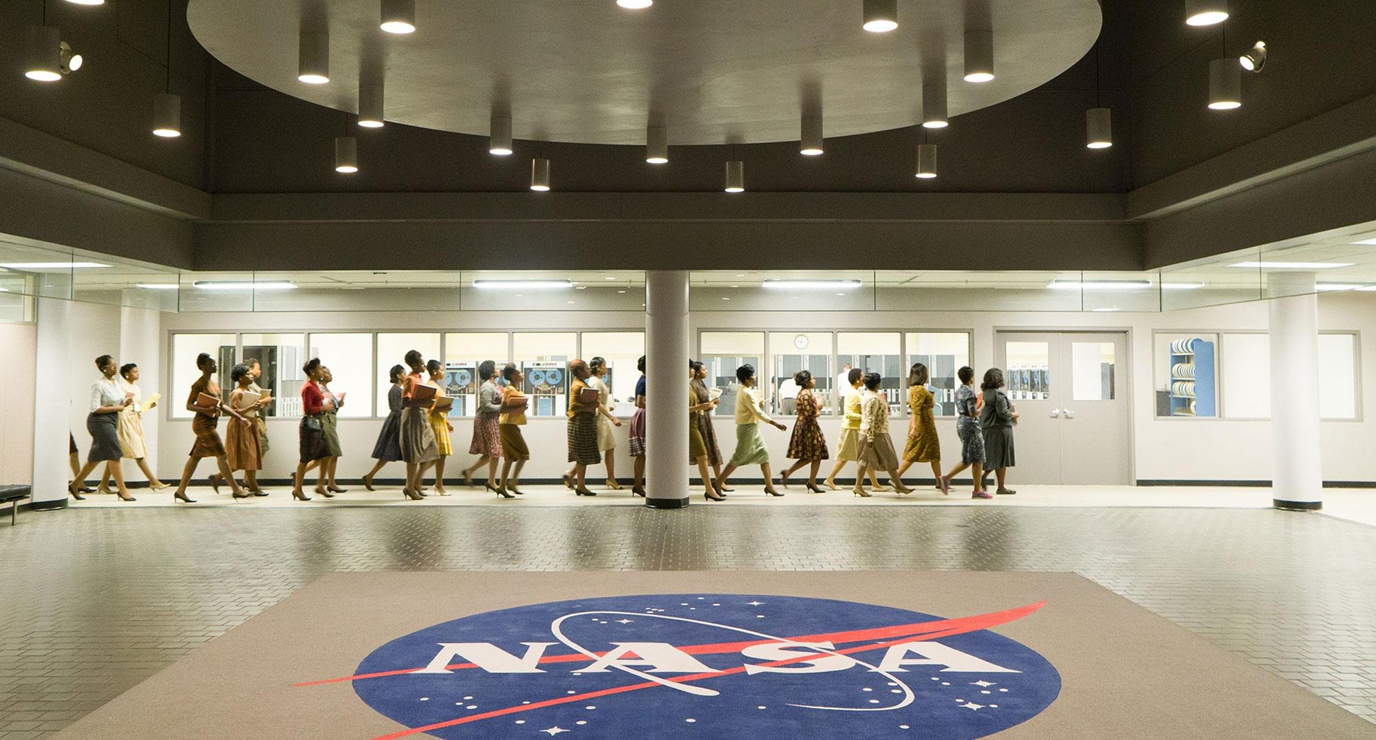 《NASA無名英雌》劇照。
