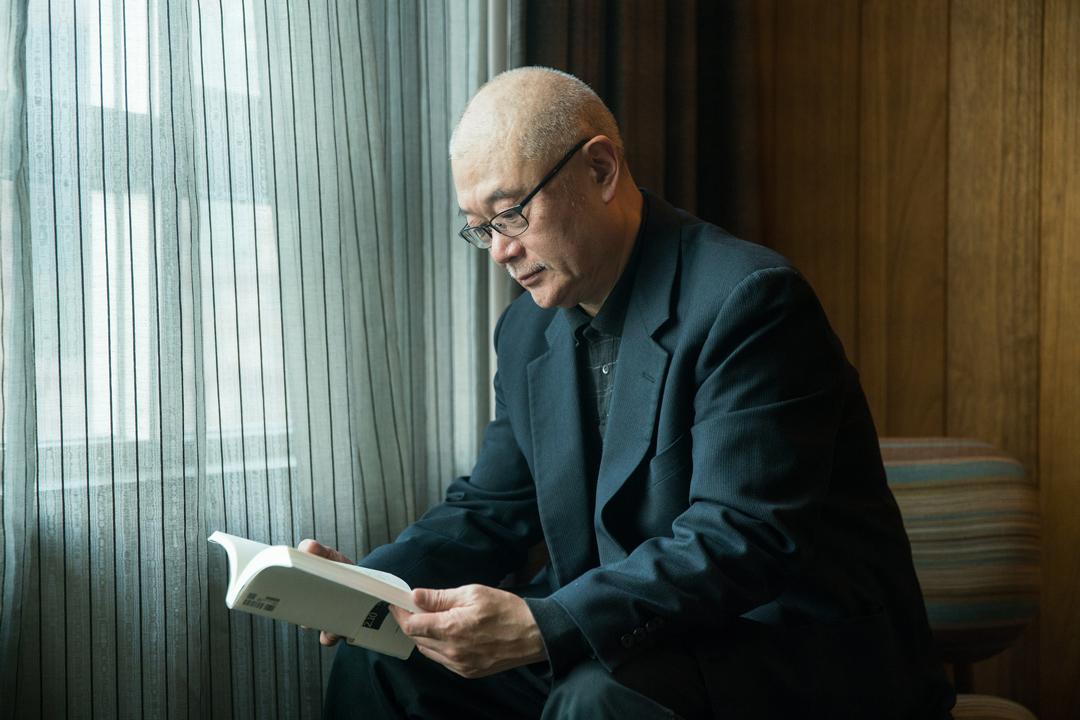 中國小說家哈金。
