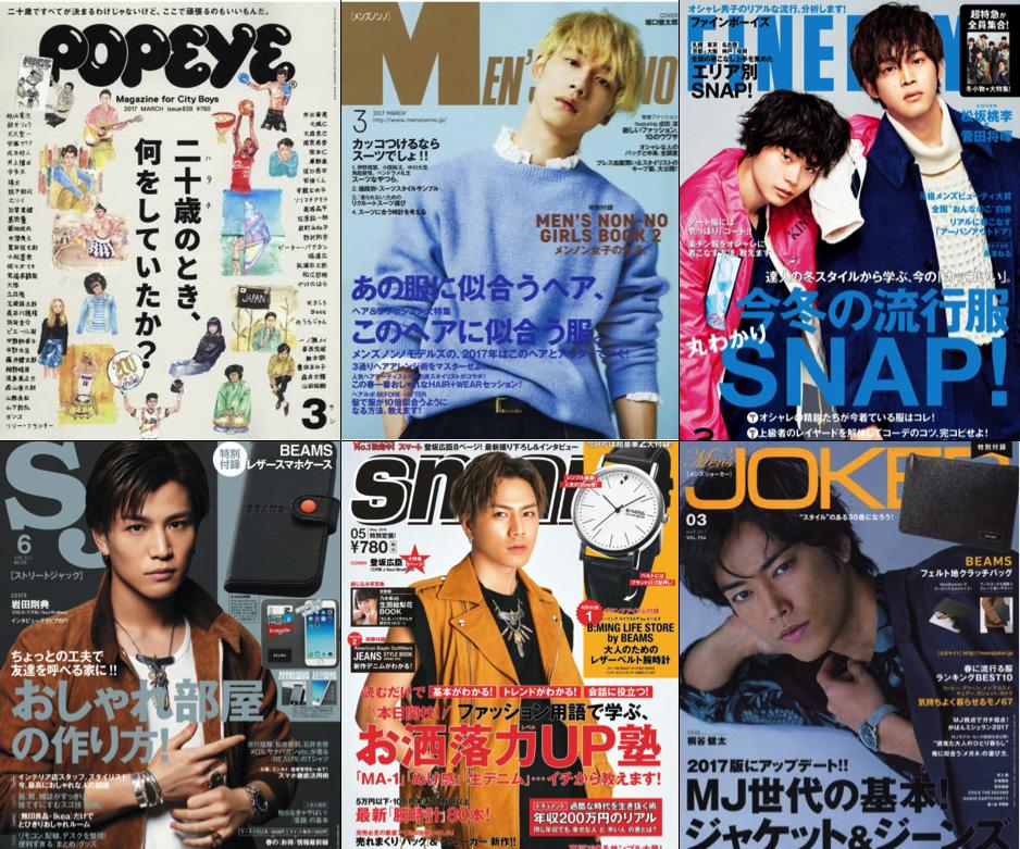 網路媒體票選最受20歲前後男生讀者歡迎的雜誌。