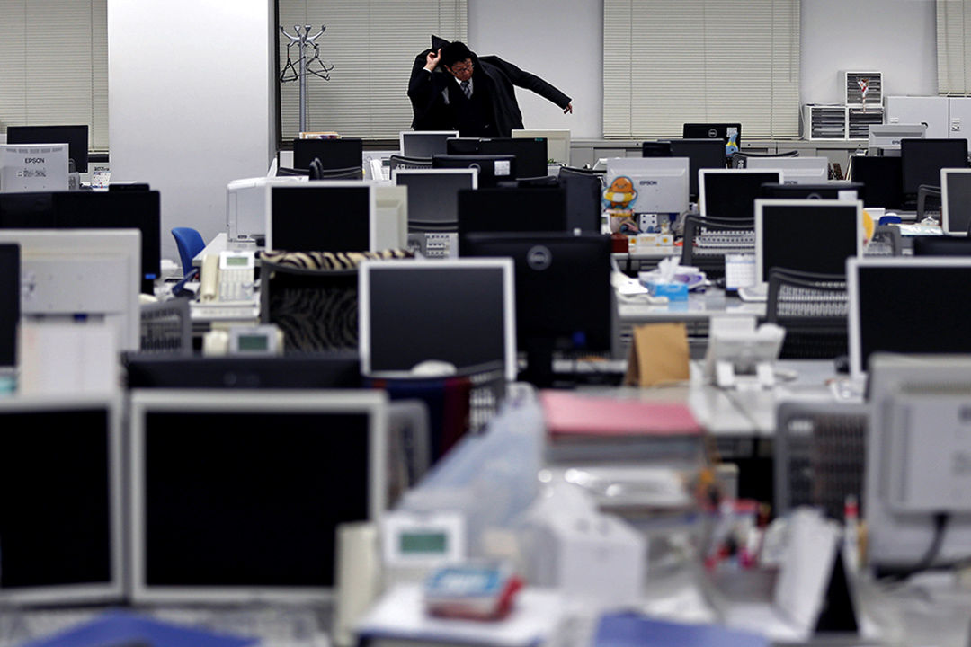 日本的加班文化全球皆知,過勞死也並不是新鮮事。